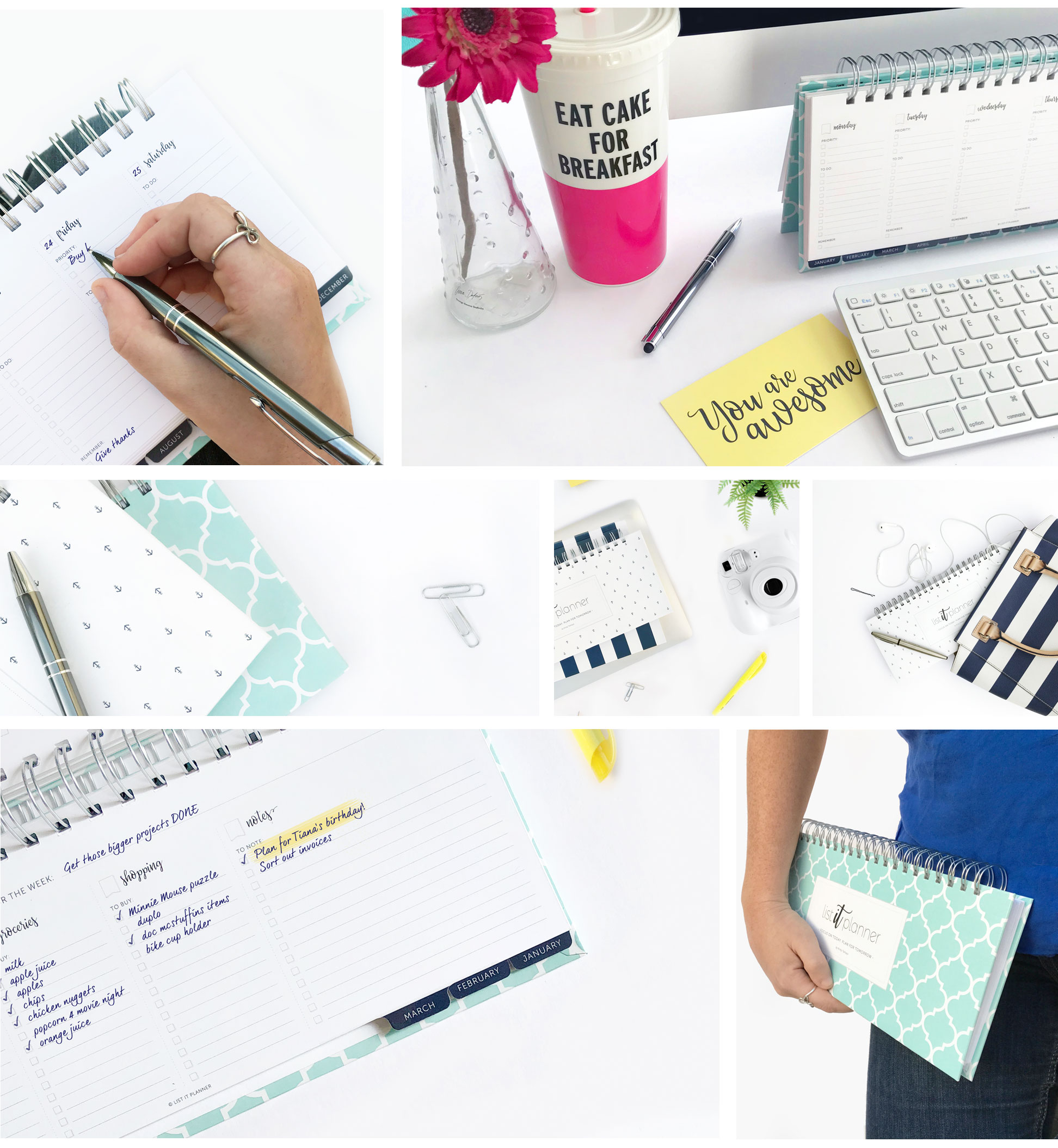 List Planner - Weekly Planner